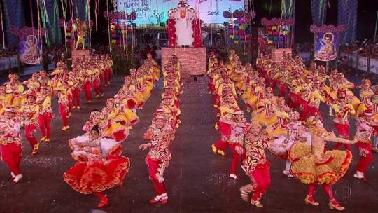 Grupo do Ceará vence Festival de Quadrilhas Juninas da Globo