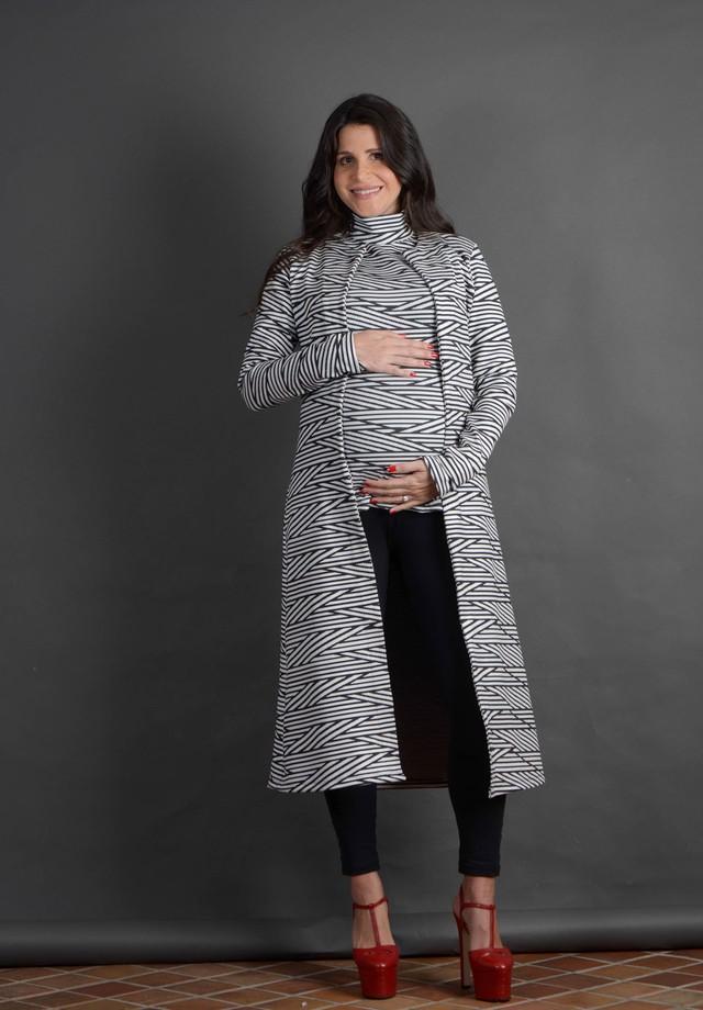 Fabiana Saad, grávida de Luca (Foto: Rodrigo Zorzi/Divulgação)
