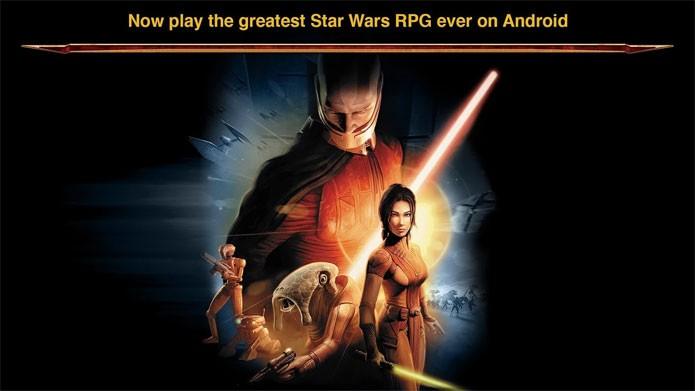 Star Wars: Knights of the Old Republic está disponível no Android (Foto: Divulgação)