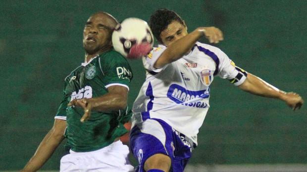Jackson do Guarani x barueri (Foto: Denny Cesare / Futura Press)