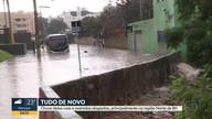 Chuva forte provoca alagamentos em BH e na Região Metropolitana