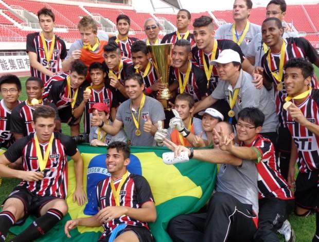 São Paulo conquista torneio sub-18 (Foto: Divulgação/saopaulofc.net)