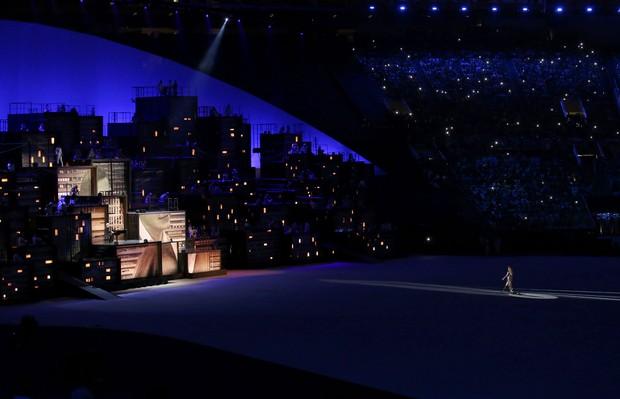 Gisele Bündchen participa de cerimônia de abertura dos Jogos Olímpicos Rio 2016 (Foto: REUTERS/Andrew Boyers)