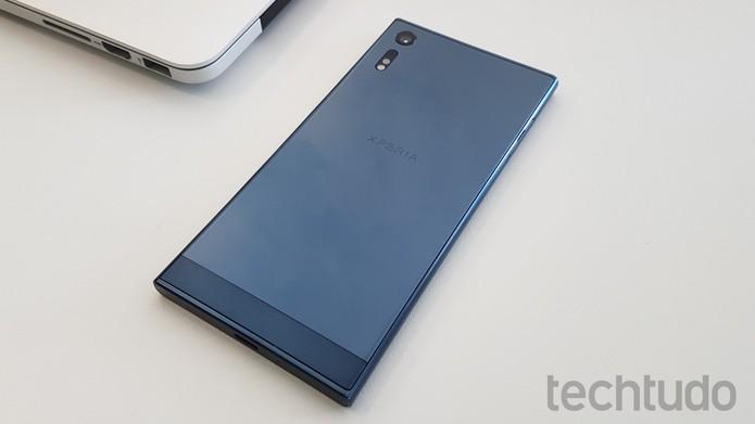 Sony Xperia XZ (Foto: Thássius Veloso/TechTudo)