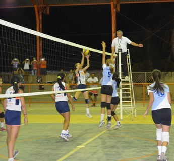 Copa Macuxi de voleibol (Foto: Nailson Wapichana/GloboEsporte.com)