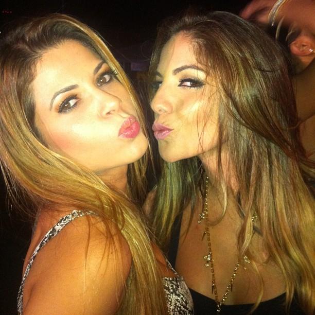 Ex-BBBs Cacau e Anamara (Foto: Instagram/ Reprodução)