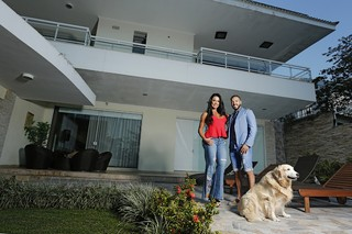 Casa de Belo e Gracyanne Barbosa (Foto: Marcos Serra Lima / EGO)