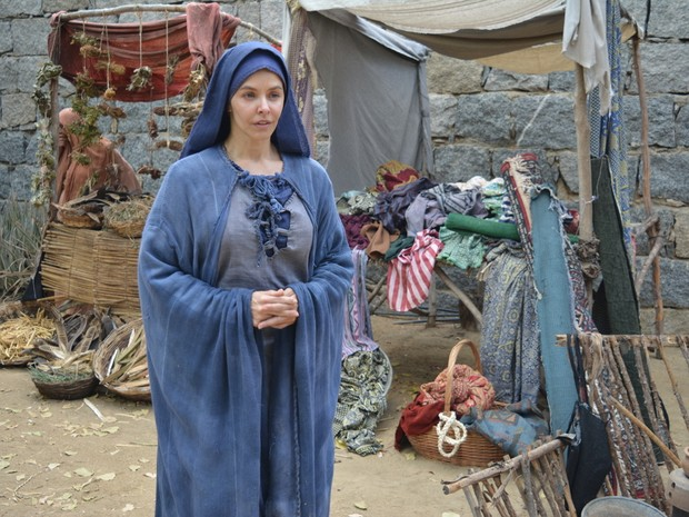 A atriz Bianca Rinaldi estreia na Paixo de Cristo de Nova Jerusalm como a personagem Maria Foto Felipe Souto MaiorDivulgao
