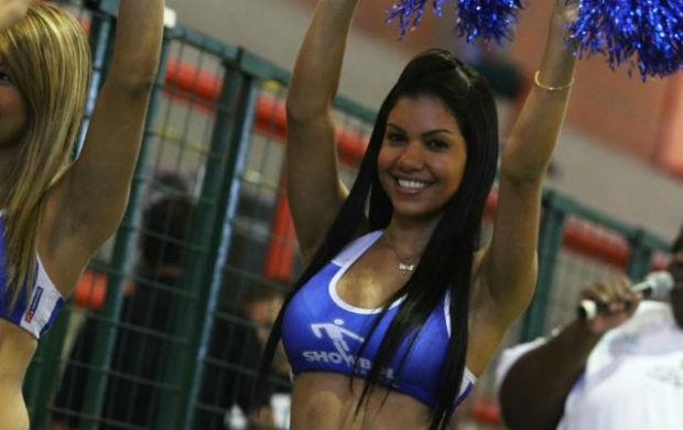 Laura Rocha, musa do showbol (Foto: Ricardo Cassiano/Divulgação)