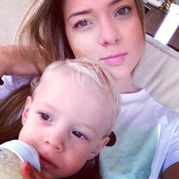 Carolina Dantas posta foto do filho (Foto: Instagram / Reprodução)