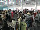 Em Manaus, bazar arrecada doações para iniciativas sociais na fronteira