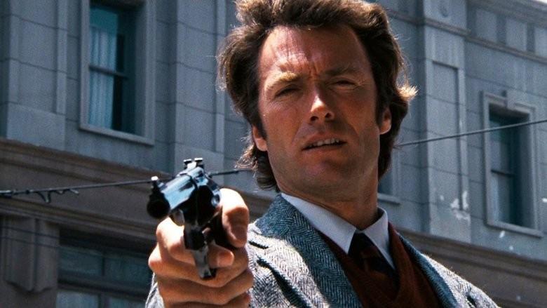 Clint Eastwood na pele de Dirty Harry (Foto: Reprodução)