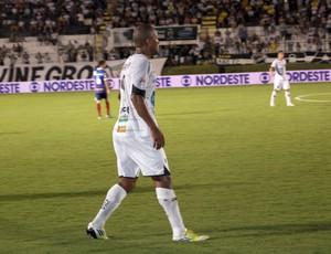 Rodrigo Silva, atacante do ABC (Foto: Augusto Gomes)