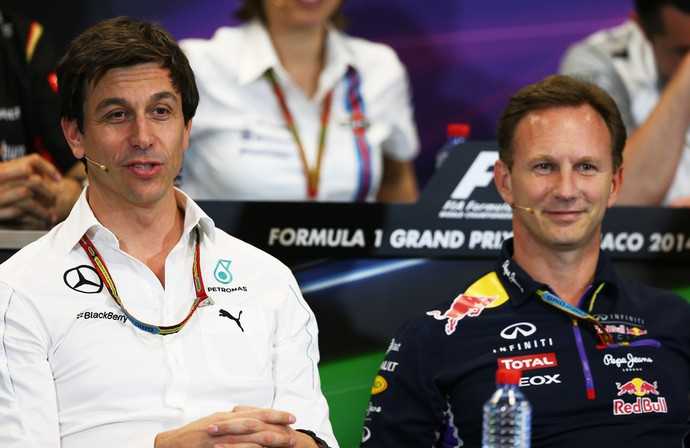 Toto Wolff Merecedes Christian Horner RBR F1 (Foto: Getty Images)