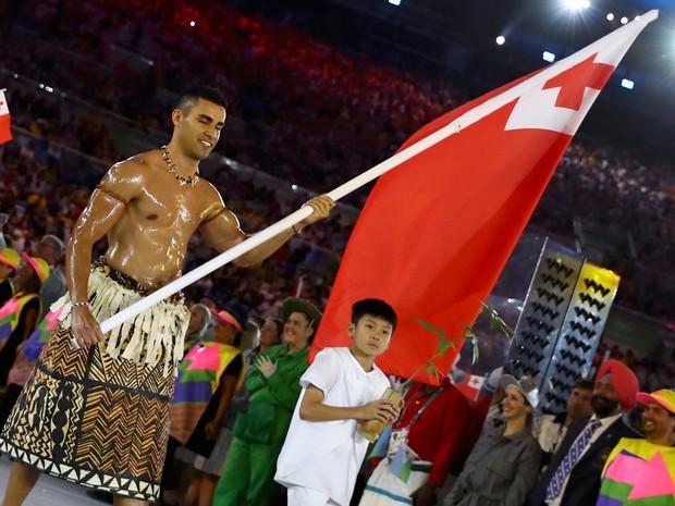 Atleta afirmou que seu país venceu a cerimônia de abertura da Olimpíada do Rio (Foto: Kai Pfaffenbach/Reuters)
