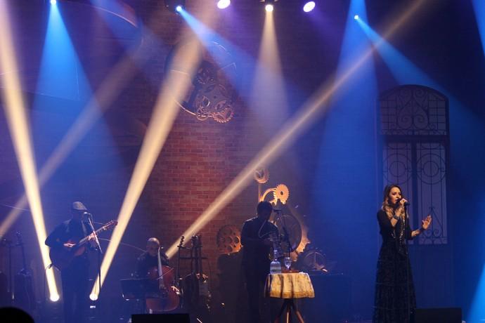 """O DVD do show """"Meu Canto"""" foi gravado no Teatro Municipal de Niterói e vai ser lançado no dia 24 de junho (Foto: Lucas Sarzi)"""