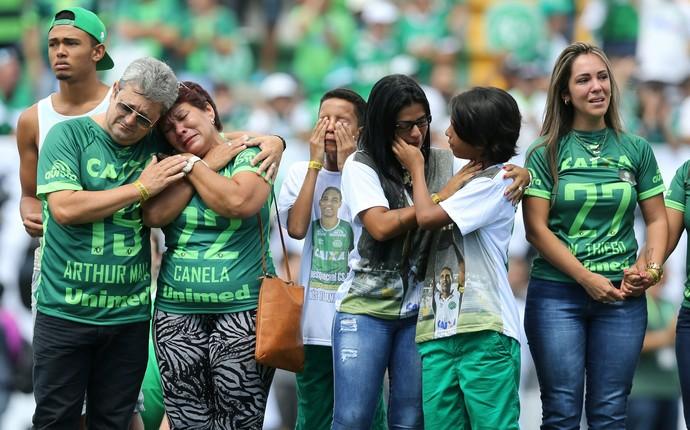 homenagens chapecoense x palmeiras  (Foto: Reuters)