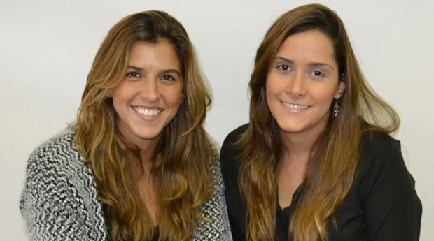 Luiza e Elisa uniram o útil ao agradável e montaram uma empresa juntas (Foto: Divulgação)