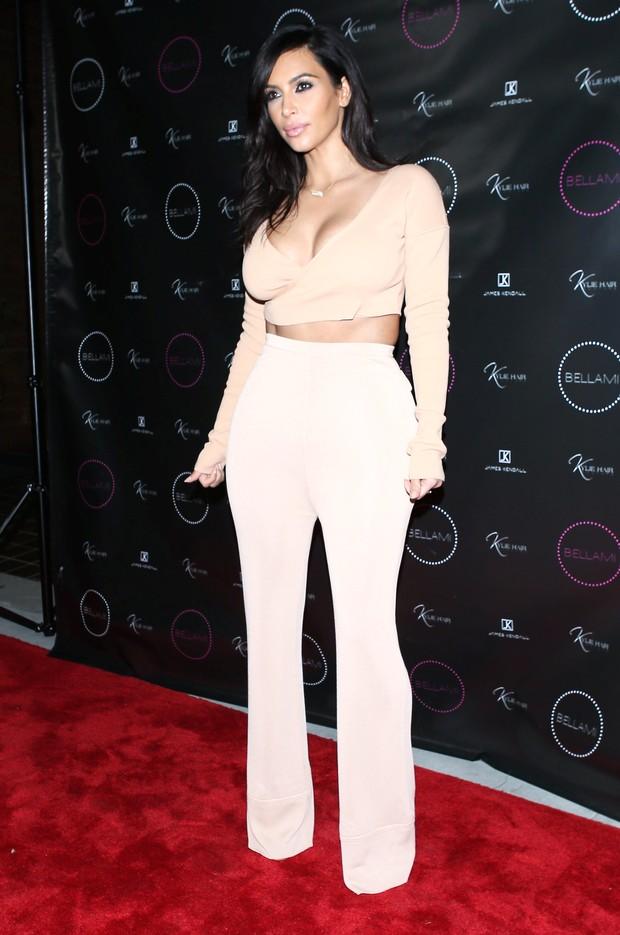 X17 - Kim Kardashian em evento em Los Angeles, nos Estados Unidos (Foto: X17online/ Agência)