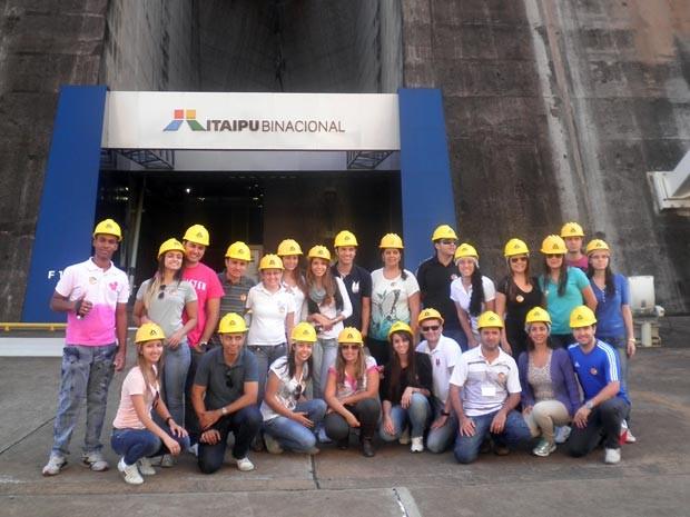 alunos surdos turma engenharia de produção Divinópolis MG (Foto: Felipe de Oliveira Ferreira/Arquivo pessoal)