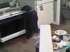 Cão provoca princípio de incêndio em fogão ao 'roubar' pizza nos EUA