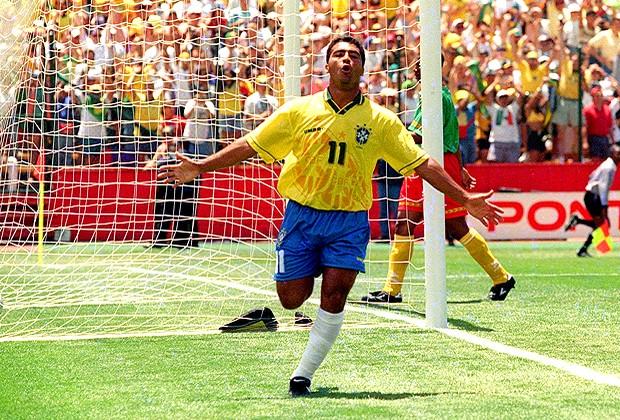 romario 1994 (Foto: Cezar Loureiro/Globo)
