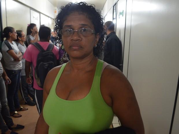 Saúde, terceirizados, limpeza, greve, Amapá, Macapá (Foto: Jorge Abreu/G1)
