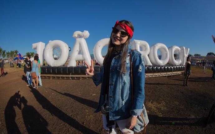 Larissa Freiria no João Rock 2016 (Foto: Mateus Rigola/Gshow)