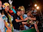 Rei Momo recebe chaves da cidade e abre oficialmente carnaval de Salvador