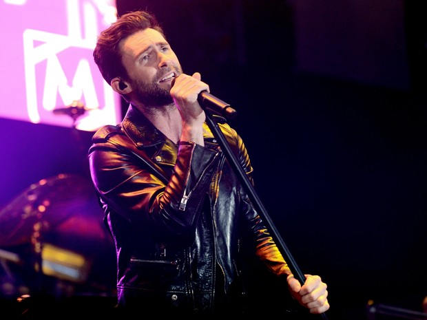 Adam Lavine em evento na Califórnia, nos Estados Unidos (Foto: Kevin Winter/ Getty Images/ AFP)