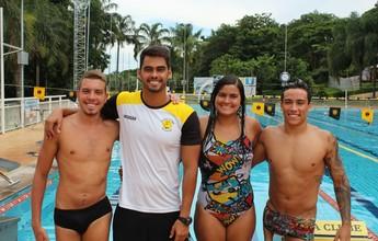 Seleção paralímpica convoca mais três nadadores de MG para treinos