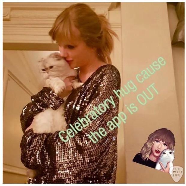 Taylor Swift lança aplicativo (Foto: reprodução/instagram)