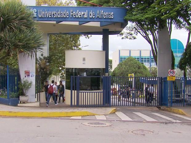 Universidade Federal de Alfenas, Unifal (Foto: Reprodução EPTV)