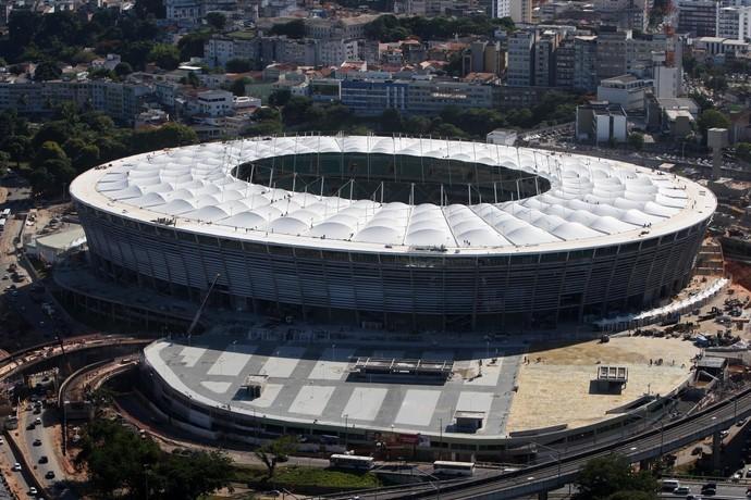 Arena Fonte Nova, em Salvador - BA (Foto: Elói Corrêa / Governo da Bahia / Divulgação)