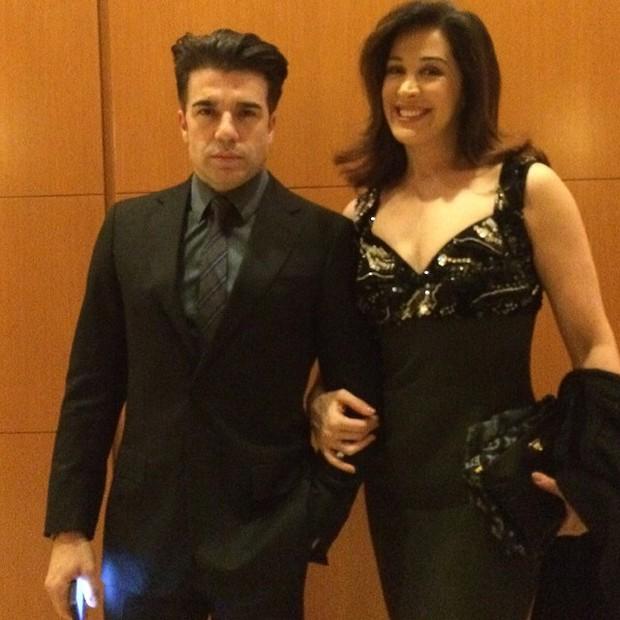 Claudia Raia com o namorado, Jarbas Homem de Mello, em Nova York, nos Estados Unidos (Foto: Instagram/ Reprodução)
