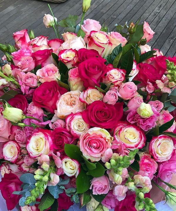As flores enviadas por Xande (Foto: Reprodução/ Instagram)