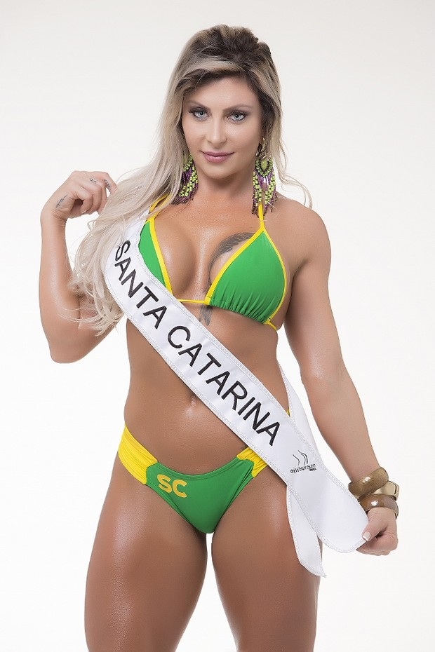Candidatas ao Miss Bumbum Brasil 5 - Luciana Hoppers - Santa Catarina (Foto: Divulgação MBB5! )