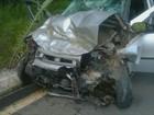 Casal morre e três pessoas ficam feridas em acidente na MG-383