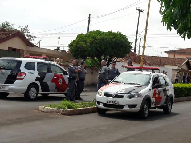 Polícia Militar foi acionada e faz buscas (Foto: Reprodução / TV TEM)