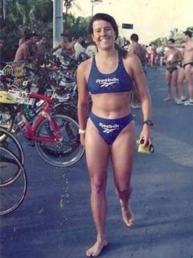 Susana completou 13 provas Ironman, de triatlo de longa distância (Foto: Arquivo pessoal)