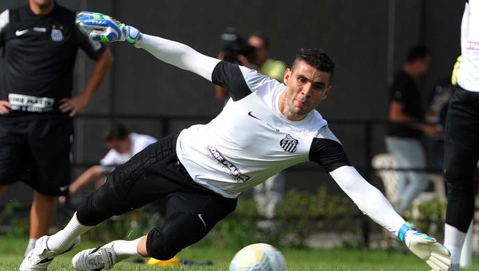 vanderlei santos treino (Foto: Ivan Storti/Divulgação Santos FC)