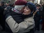 Bailarinos protestam dançando tango contra 'tarifaço' na Argentina