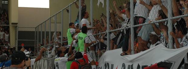 Botafogo-PB x Treze, Campeonato Paraibano 2013 (Foto: Lucas Barros / Globoesporte.com/pb)