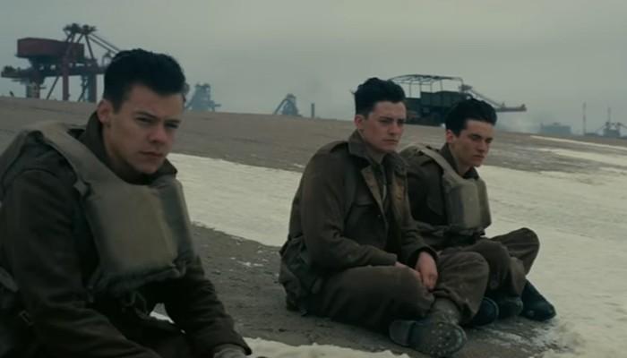 Cena de 'Dunkirk', novo filme de Christopher Nolan (Foto: Reprodução/Youtube)
