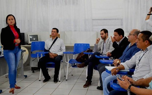 Projeto piloto da campanha 'Calçada Legal' é criado em Porto Velho (Foto: Angelina Ayres Medeiros)