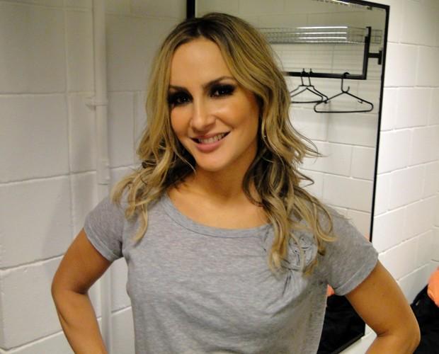 Claudia Leitte deu dicas de moda para as foliãs (Foto: Caldeirão do Huck/TV Globo)