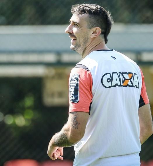 galo na cabeça (Bruno Cantini/ Atlético-MG)