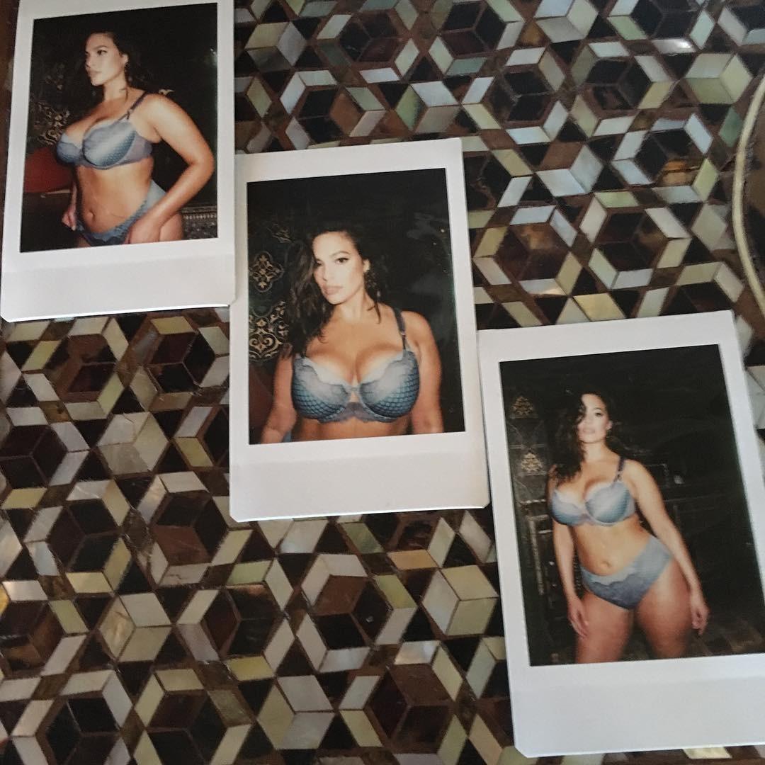 Ashley Graham  (Foto: Reprodução/ Instagram)
