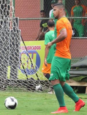 Romário no treino do América-MG (Foto: Carlos Cruz)