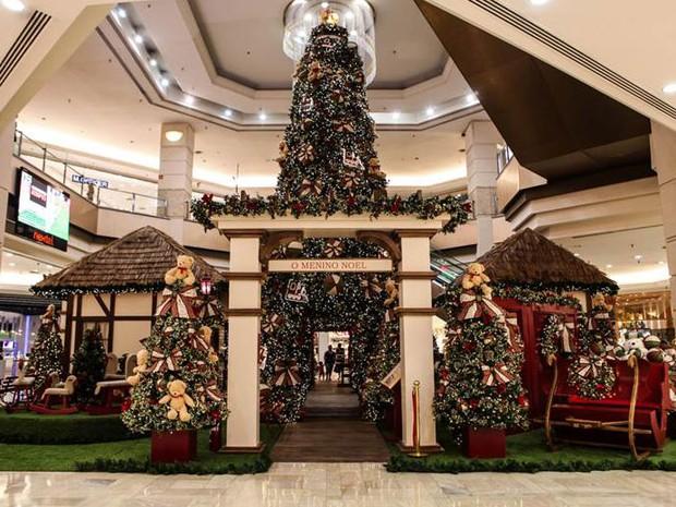 Decoração de Natal do Shopping Eldorado (Foto: Divulgação: Shopping Eldorado)